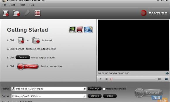 Pavtube HD Video Converter Ekran Görüntüleri - 4