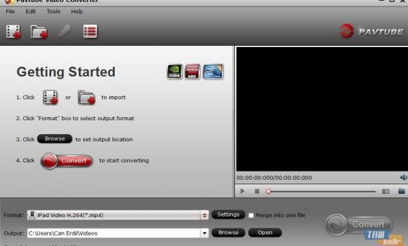 Pavtube Video Converter Ekran Görüntüleri - 3