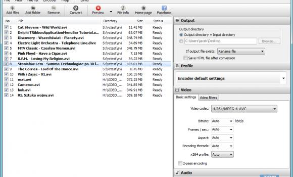 Pazera Free AVI to MP4 Converter Ekran Görüntüleri - 2