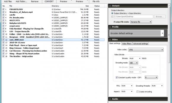 Pazera WebM Converter Ekran Görüntüleri - 4