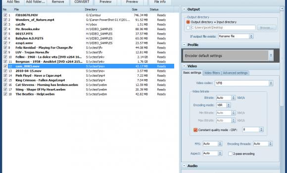 Pazera WebM Converter Ekran Görüntüleri - 3