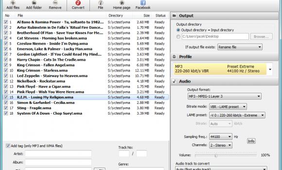 Pazera WMA to MP3 Converter Ekran Görüntüleri - 2