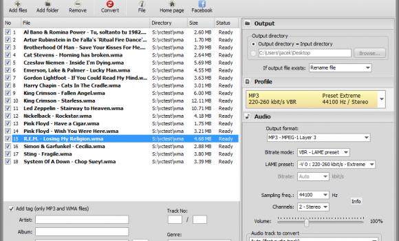 Pazera WMA to MP3 Converter Ekran Görüntüleri - 1