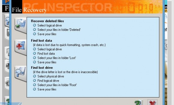 PC Inspector File Recovery Ekran Görüntüleri - 2