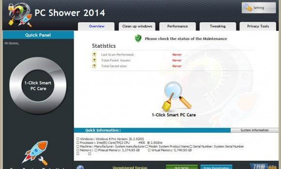 PC Shower Ekran Görüntüleri - 1
