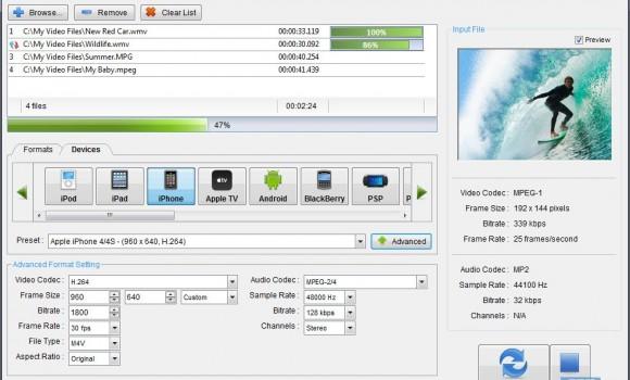 PC Video Converter Ekran Görüntüleri - 2