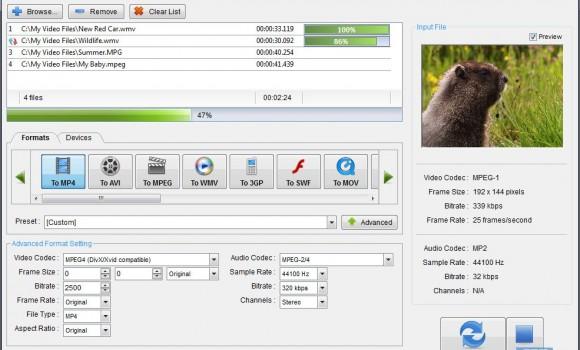 PC Video Converter Ekran Görüntüleri - 1