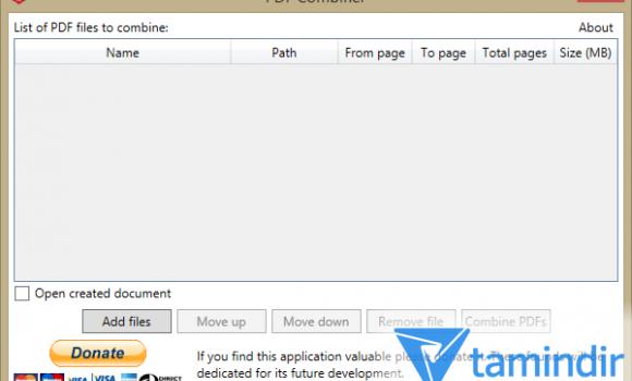 PDF Combiner Ekran Görüntüleri - 4