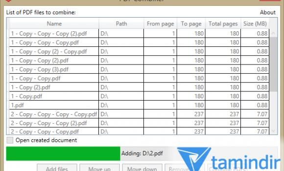 PDF Combiner Ekran Görüntüleri - 3