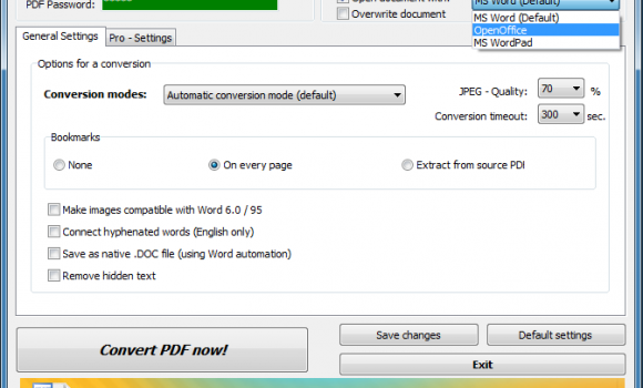 PDF2Word Converter Ekran Görüntüleri - 4