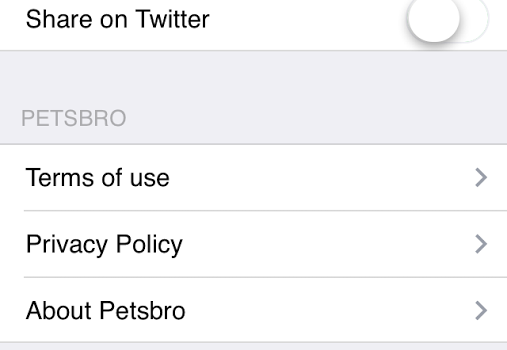 Petsbro Ekran Görüntüleri - 1
