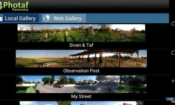 Photaf Panorama Ekran Görüntüleri - 5