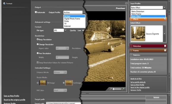 Photomizer Retro Ekran Görüntüleri - 2