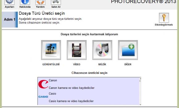 PHOTORECOVERY Ekran Görüntüleri - 2