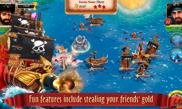 Pirate Battles: Corsairs Bay Ekran Görüntüleri - 2