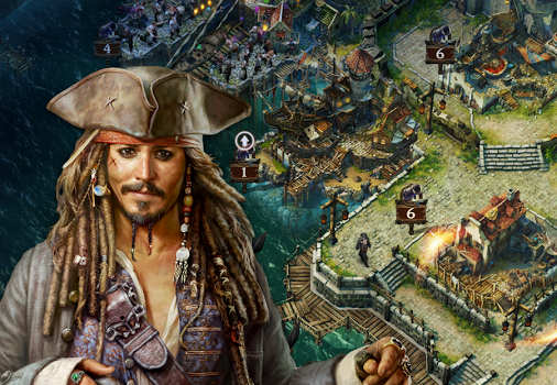 Pirates of the Caribbean : Tides of War Ekran Görüntüleri - 5
