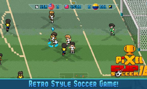 Pixel Cup Soccer 16 Ekran Görüntüleri - 6