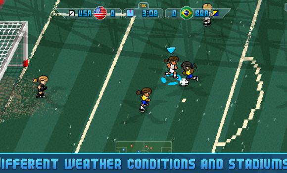 Pixel Cup Soccer 16 Ekran Görüntüleri - 5