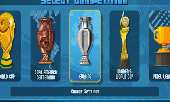 Pixel Cup Soccer 16 Ekran Görüntüleri - 2