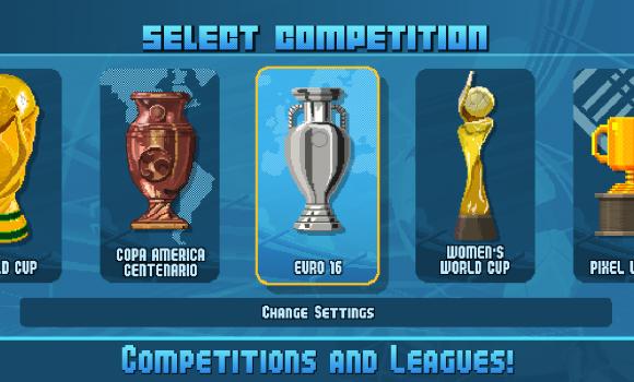 Pixel Cup Soccer 16 Ekran Görüntüleri - 3