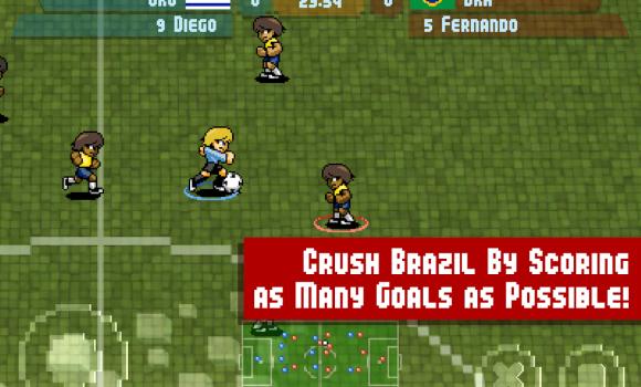Pixel Cup Soccer Maracanazo Ekran Görüntüleri - 5
