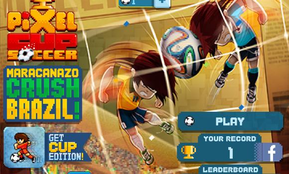Pixel Cup Soccer Maracanazo Ekran Görüntüleri - 2