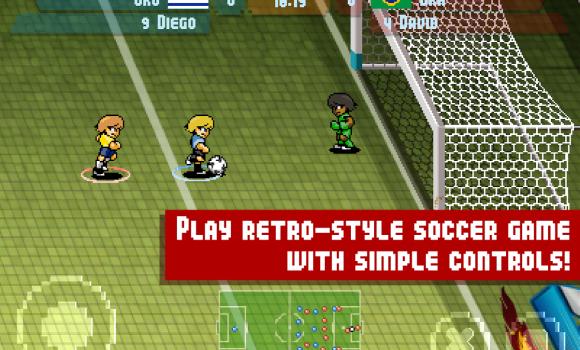 Pixel Cup Soccer Maracanazo Ekran Görüntüleri - 4