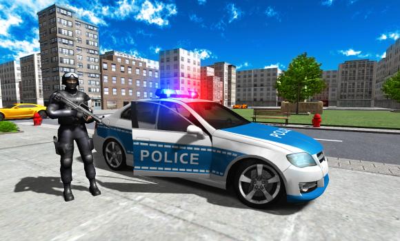 Police Car Driver City Ekran Görüntüleri - 1