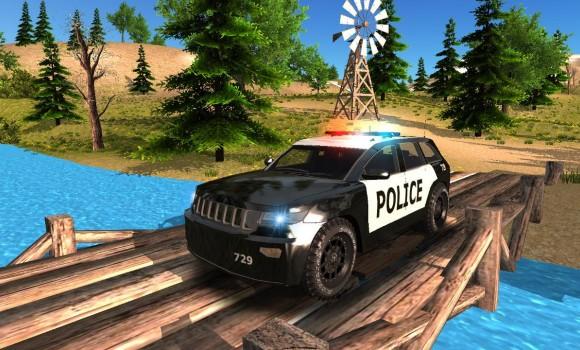 Police Car Driving Offroad Ekran Görüntüleri - 3