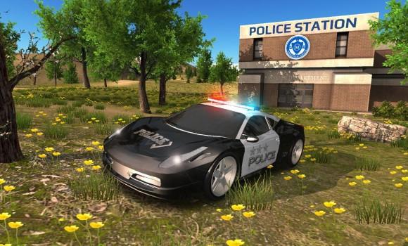 Police Car Driving Offroad Ekran Görüntüleri - 5