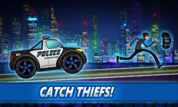 Police car racing for kids Ekran Görüntüleri - 5