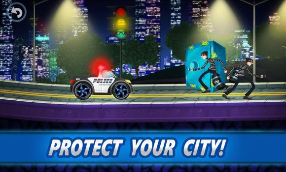 Police car racing for kids Ekran Görüntüleri - 4