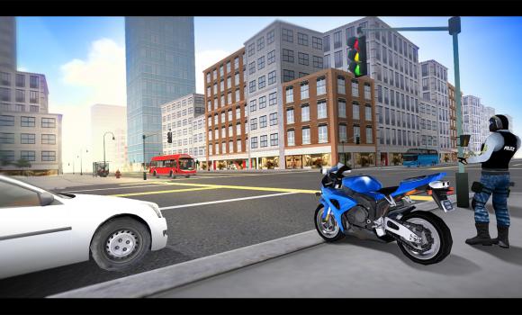 Police Motorcycle Simulator 3D Ekran Görüntüleri - 3