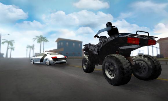 Police Quad Chase Simulator 3D Ekran Görüntüleri - 4