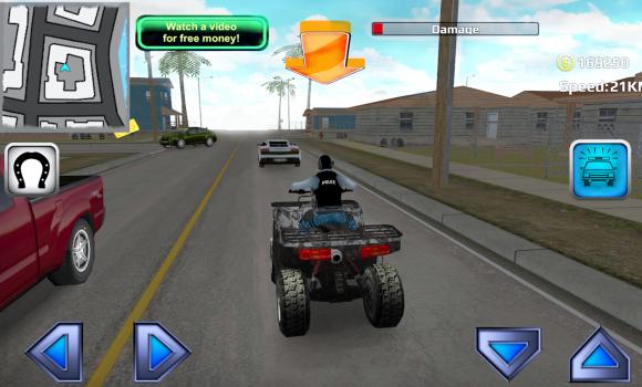 Police Quad Chase Simulator 3D Ekran Görüntüleri - 3