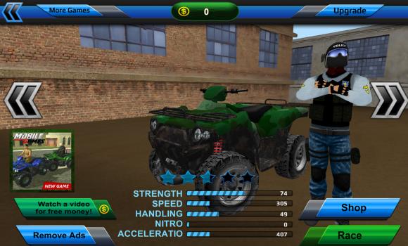 Police Quad Chase Simulator 3D Ekran Görüntüleri - 1