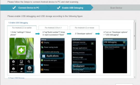 Potatoshare Android Data Recovery Ekran Görüntüleri - 5