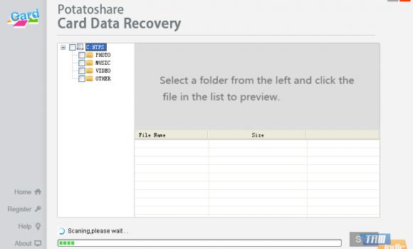 Potatoshare Card Data Recovery Ekran Görüntüleri - 2