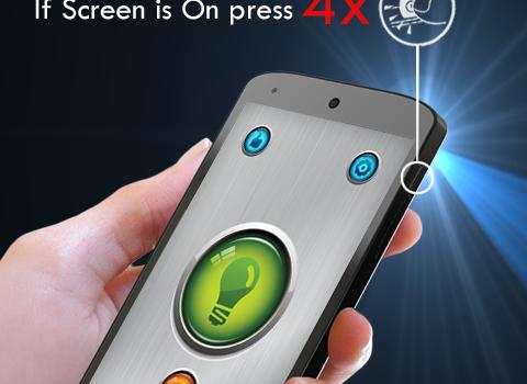 Power Button Flashlight Ekran Görüntüleri - 4