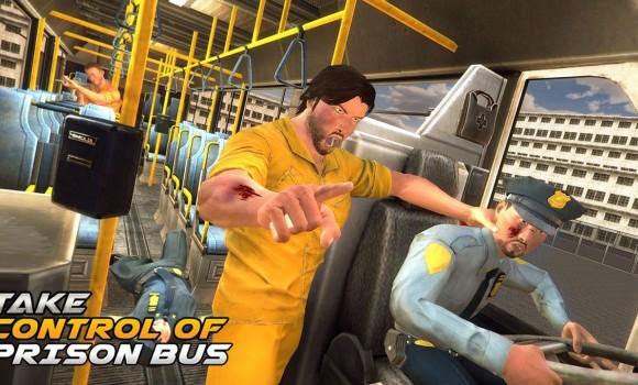Prison Escape Police Bus Drive Ekran Görüntüleri - 1