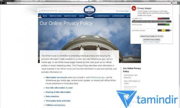 Privacy Badger Ekran Görüntüleri - 1