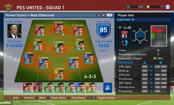 Pro Evolution Soccer 2016 myClub Ekran Görüntüleri - 1