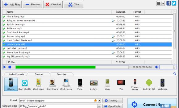 Program4Pc Audio Converter Ekran Görüntüleri - 1