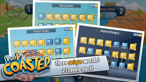 Puzzle Coaster Ekran Görüntüleri - 1