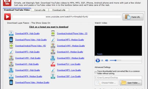 Quick YouTube Downloader Ekran Görüntüleri - 1