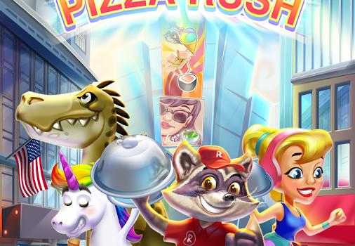 Raccoon Pizza Rush Ekran Görüntüleri - 5