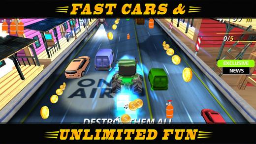 Racing Car On Fire Ekran Görüntüleri - 4