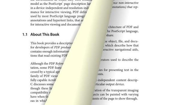 Radaee PDF Reader Ekran Görüntüleri - 7