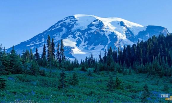 Rainier Dağı Teması Ekran Görüntüleri - 2