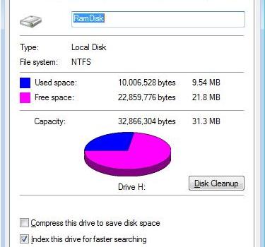 RamDisk Ekran Görüntüleri - 1